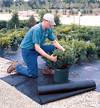 Ground-Mat is a very strong and cost-effective Woven Weed Control Fabric